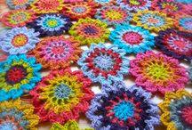 Crochet (flowers & leaves)