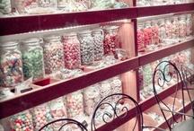 lollies in jars