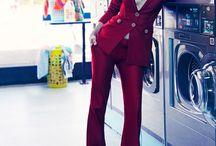 Editorial Laundromat Photoshoot