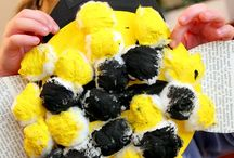 Cotton bumble bee