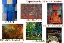 Expositions et invitations vernissages !
