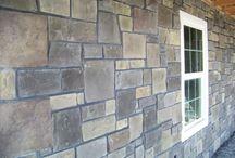 Ledgestone (Harristone from Kodiak Mountain Stone)