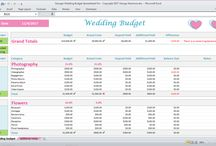 Wedding Budget Spreadsheet Planner / Wedding Budget Planning Excel Spreadsheet. How to budget for a wedding.  Wedding budget tips.  How to save money on a wedding. - Excel Templates - Digital downloads - Printable