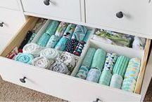 organizar roupa dos bebês