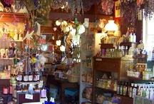 herb shop display