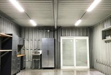 Container garage shops