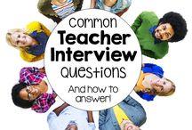 Interviews, Resumes