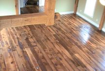 Reclaimed Barnwood Flooring / Nature and history shine through Shenandoah Furniture Gallery hardwood floors. We make our floors one board at a time, selectively evaluating each piece for flaws or imperfections. We custom mill and size the boards to fit your preferences for aesthetics and performance. Together, we bring a warm, inviting sense of history into your home.