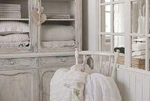 Shabby chic interiors ♥ Inspiration