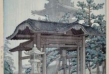 Shin hanga prints