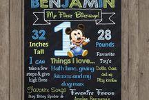 Grant's 1st Birthday / by Kelsey Beardshear