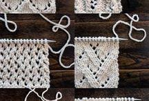 Vzory na pletení a háčkování