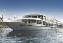 CroisiEurope (Cruceros Fluviales) / Nuevo barco ´MS Miguel de Torga´que navegará por las aguas del rio Duero. Propiedad de Croiseurope