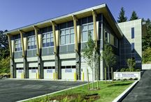 BC Ambulance Service and Dispatch Centre / 13,850 sq. ft. office building and ambulance depot located at 2764 Leigh Rd. in Langford, BC.