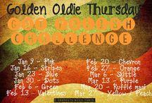Crumpet's Nail Tarts GOT Polish Challenge - Golden Oldie Thursday! / Crumpet's Nail Tarts Golden Oldie Challenge 2014
