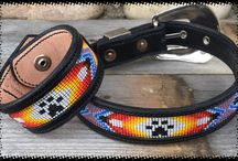 """Furs 'N Hers™ Matching Dog Collar and Cuff by Sleepy Holow / What is cutier than """"Matching"""" your best four-legged buddy?  A collar for him/her and a matching cuff for you! Only for the SERIOUS dog lovers!  Find out more at www.fursnhers.com"""