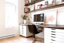 Home office and study / by Louise Fletcher