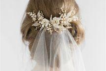 hair brides accessories