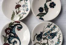 Desenler-Çini / seramik boyama