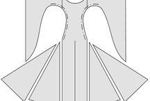 esküvői ruha szabásminta