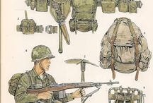 US vietnam equip and uniforms