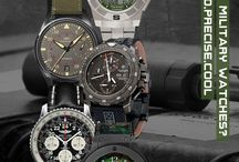 Military Watches / by willibuy.com Design for Watch - Uhr - Montre