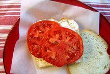 Tomato Sandwiches Galore