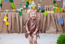 Safari Themed Birthday Party