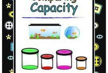 volume, capacity, mass early years