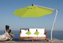 Umbrellas & Shade by Season in a Trunk / Protect yourself from the sun :)