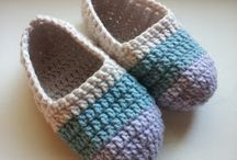Crochet slippers & boots