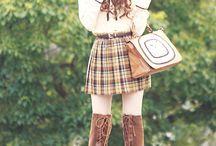Model pakaian asia