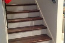 Stained wood fast and easy