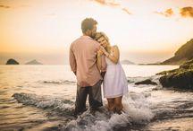 Ensaio casal praia
