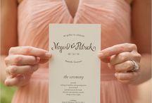 Programs -Wedding