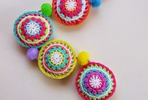 sonajero boho crochet