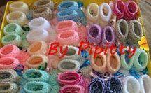 sapatinhos de lã