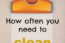 Cleaning advice