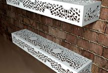 Lace Shelving / Beautiful modern and contemporary Lace shelving in many designs