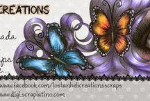 My blog www.lostanhellcreations.blogspot.mx