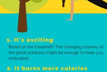 Fit and Happy Infographics