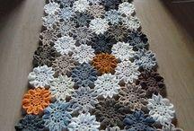 crochet centros de mesa