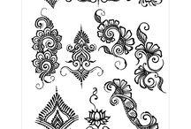 Henna minták