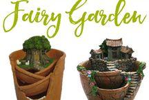 Fairy/Gnome Garden Ideas