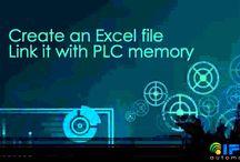 Monitoring the PLC memory status using Excel / Monitoring the PLC memory status using Excel