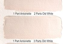 Antoinette - kolor tygodnia/colour of a week - Chalk Paint decorative paint by Annie Sloan
