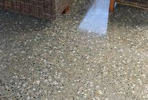 Slipt betonggulv