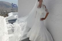 wedding dress /  Aspasia Rammos.bride in greece. wedding dress