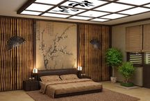 bamboo wall interior
