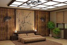 bamboo wall interior